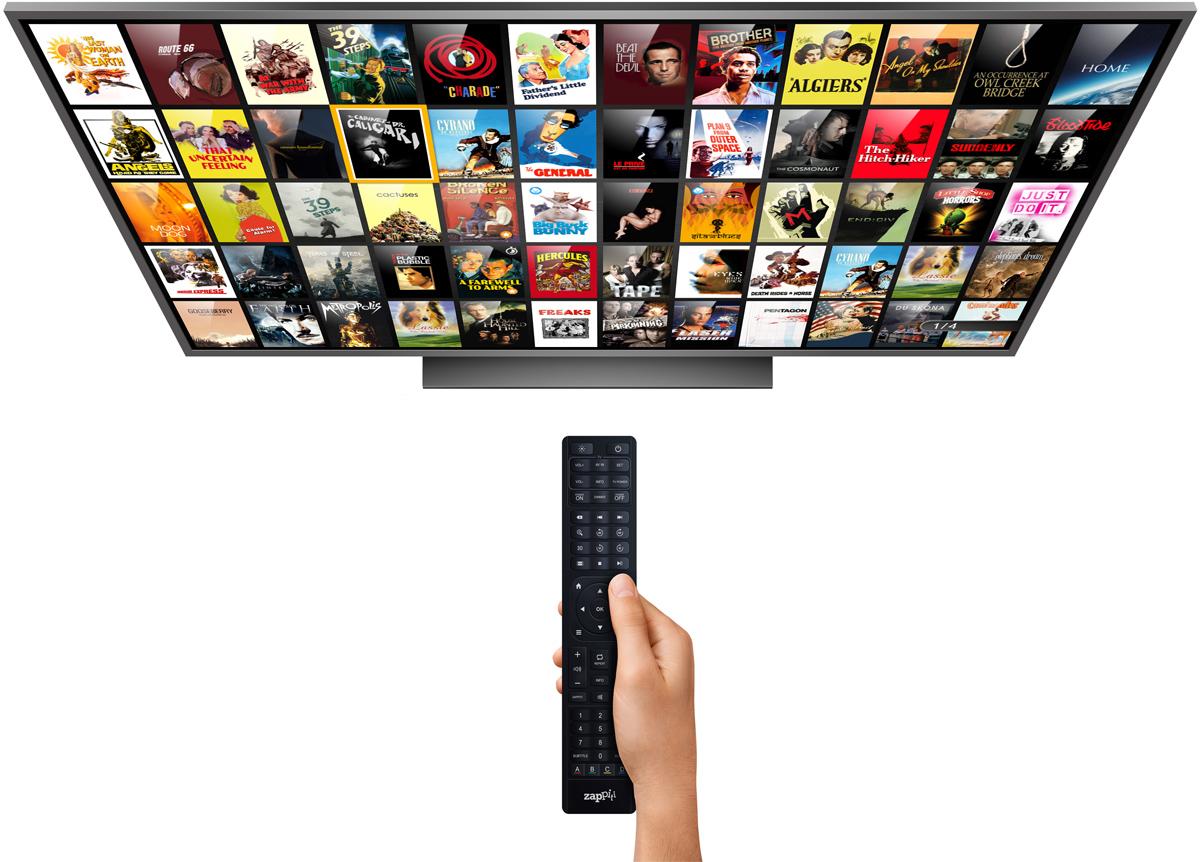 TV Zappiti Media Center Movie Wall