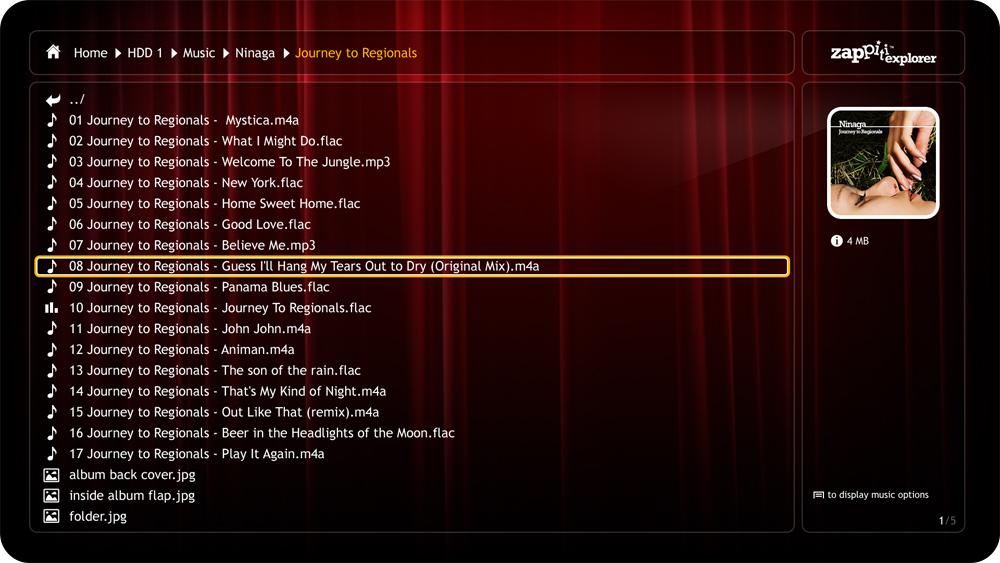 Zappiti Explorer Music Zappiti HDR 4K