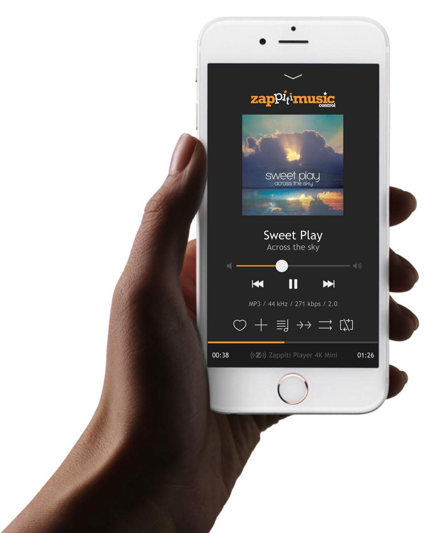Zappiti Music iPhone