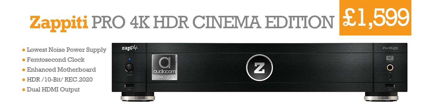 Zappiti Pro 4K HDR Cinema Edition
